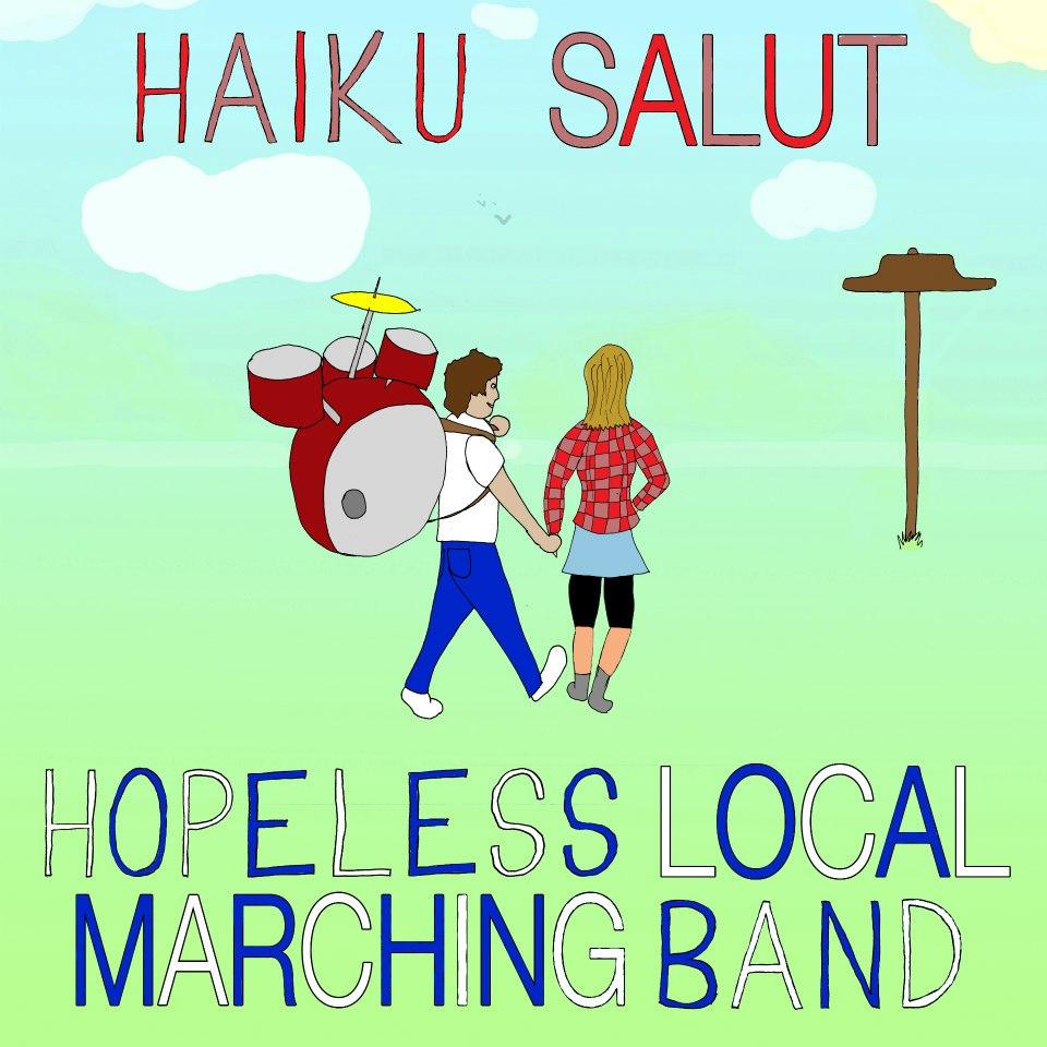 WCR001 – Haiku Salut & Hopeless Local Marching Band split cd